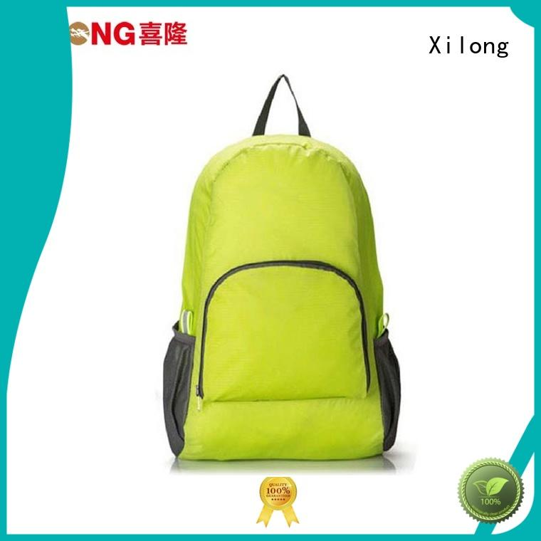 Xilong small light foldable backpack for tour