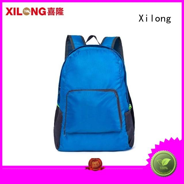 waterproof light foldable backpack foldable for tour Xilong