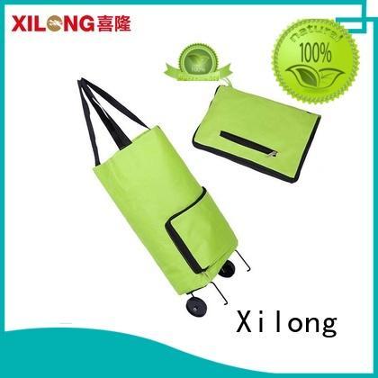 on custom logo reusable shopping bags odm for ladies Xilong