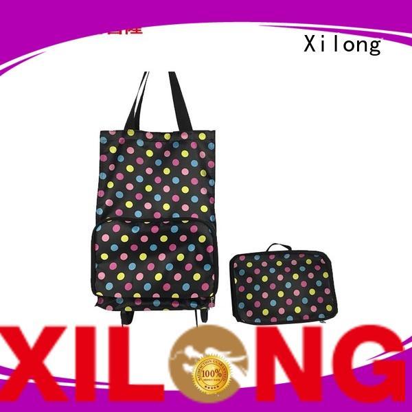 Xilong market waterproof shopping trolley customization for girls