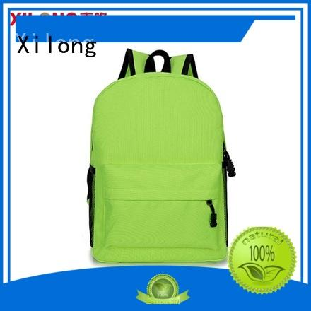 Xilong personalized wholesale school backpacks for students