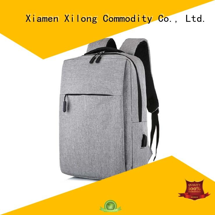 travel personalized laptop backpack usb charger for travel