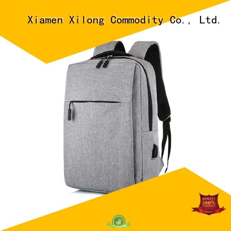 Xilong computer laptop backpack manufacturer backpack for business trip