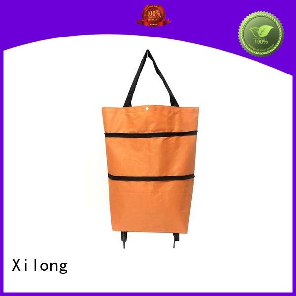 sale fold up shopping trolley bag laminated for girls