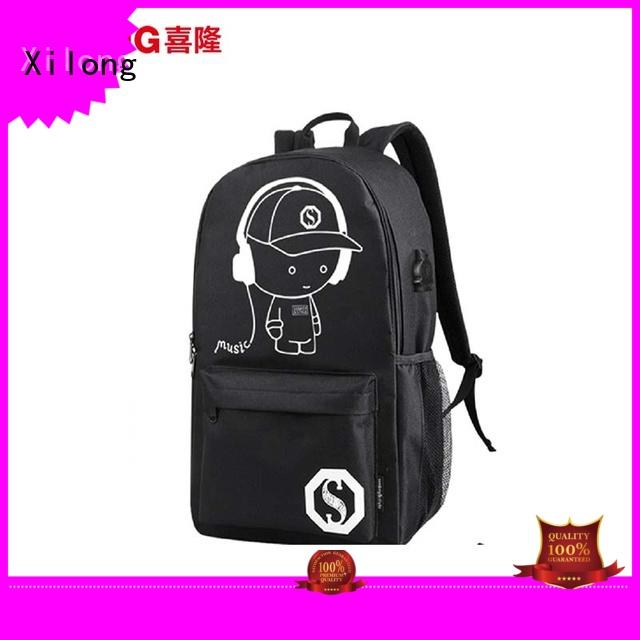 Xilong school kids backpacks for school for wholesale for high school