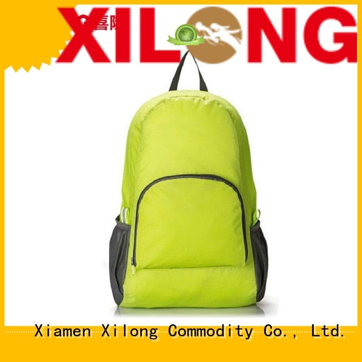 Xilong outdoor best foldable backpacks for girls