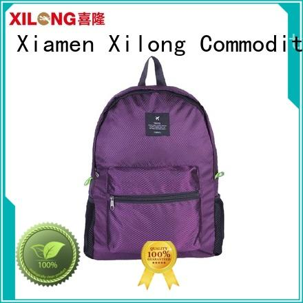 Xilong logo foldable bike backpack reasonable price for travel