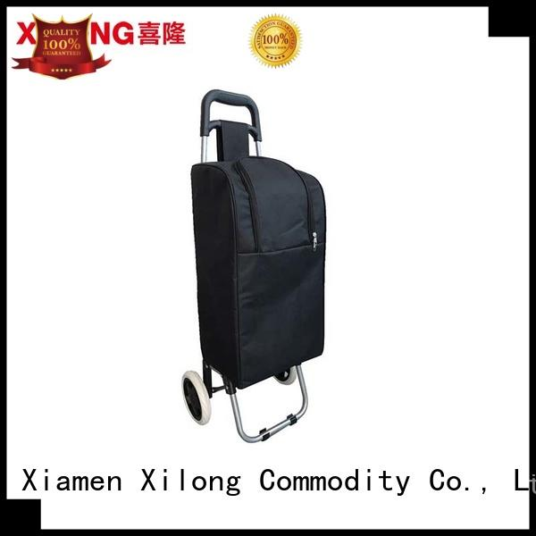 Xilong portable personalized rolling cooler bag design