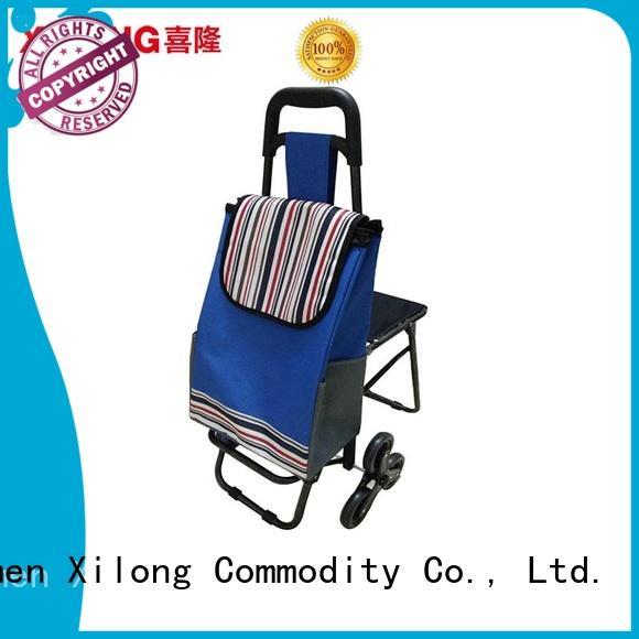 Xilong cheap shopping trolley Supply