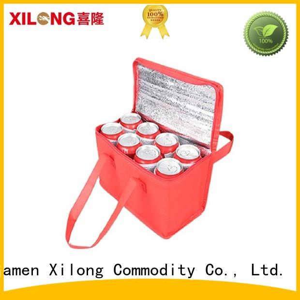 Xilong cooler custom printed cooler bags aluminium
