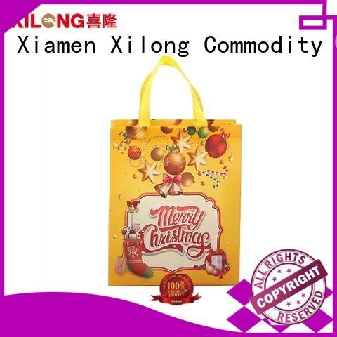 Xilong shopping folding shopping bag manufacturers free sample for trip