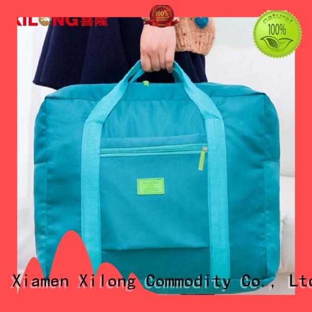 Xilong foldable custom cheerleading duffle bags factory