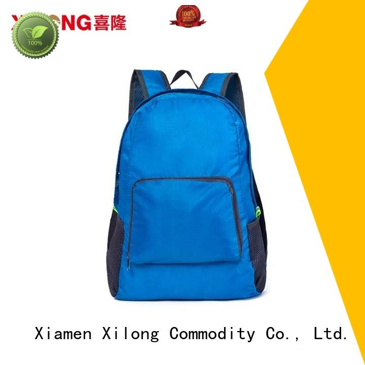 light foldable waterproof backpack logo duffle
