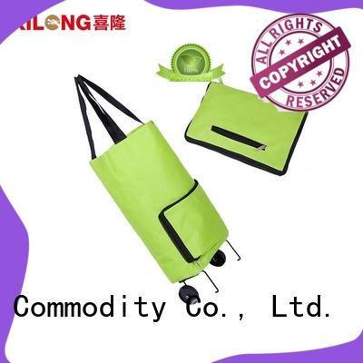 folding shopping trolley bag on for travel Xilong