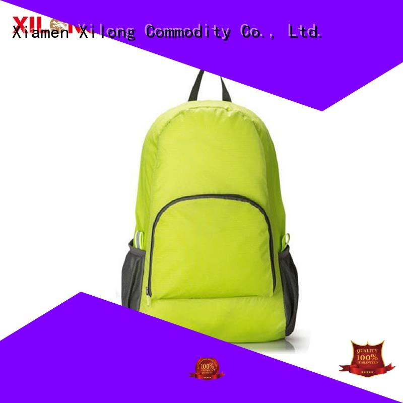 Xilong foldable fold up rucksack for travel
