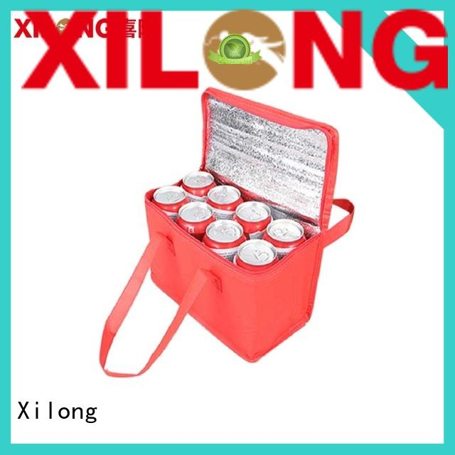 Xilong food personalised cooler bags bag for shopping
