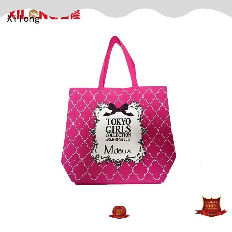 bag reusable shopping tote bags free sample Xilong