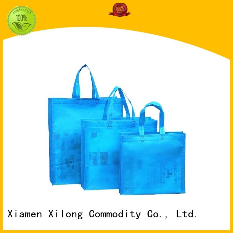 Xilong logo big shopper bags manufacturers factory price for hiking
