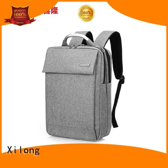 Xilong customized best business laptop backpack fashion for computer