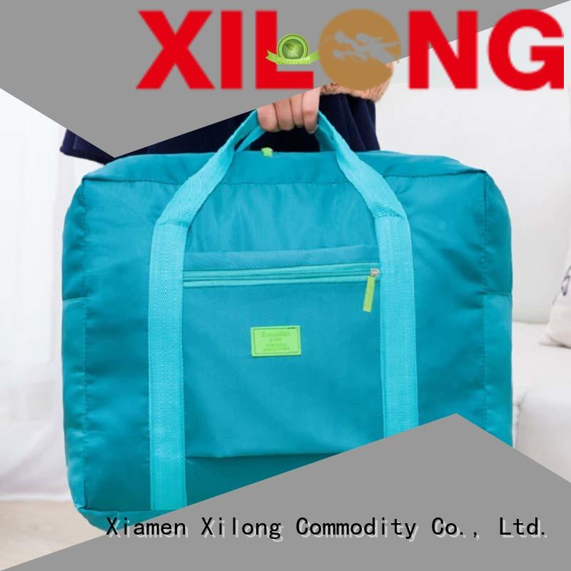 Xilong foldable personalized duffle bags