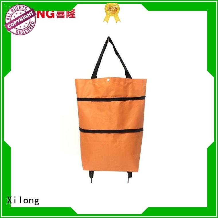 Custom portable shopping trolley bag Supply