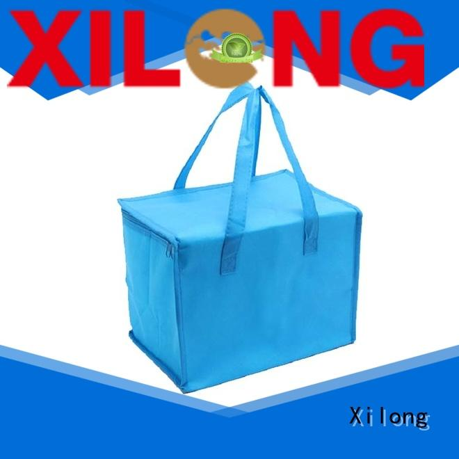 insulated custom logo cooler bags food bag for shopping