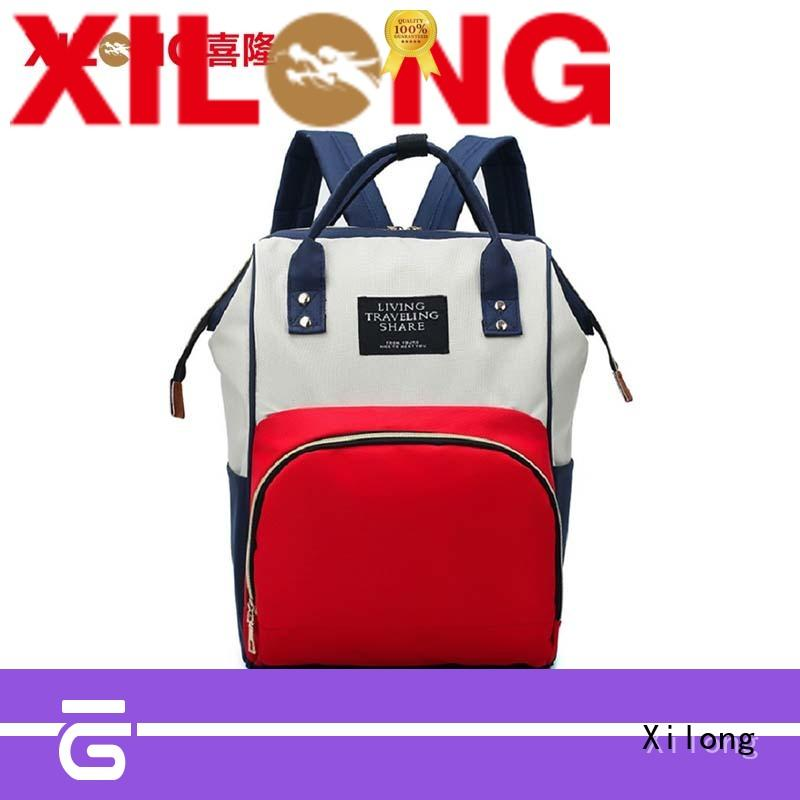 small diaper bag backpack large for students Xilong