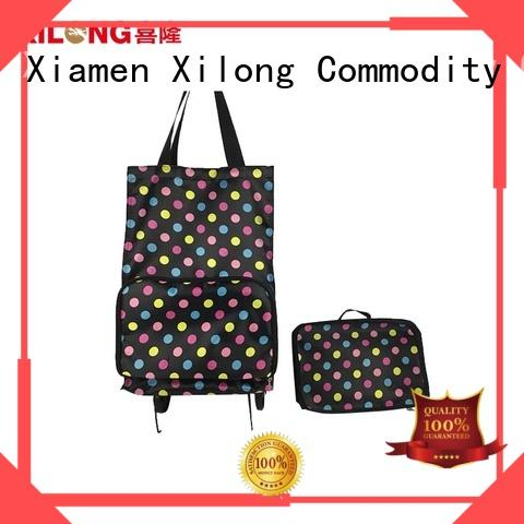 wheels folding shopping trolley bag for wholesale for travel