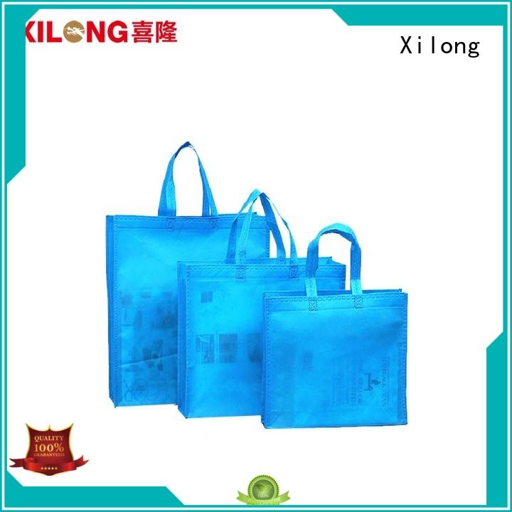 Xilong laminated shopping bag wholesale suppliers factory price