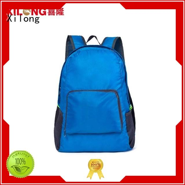 Xilong travelling foldable daypack backpack for tour