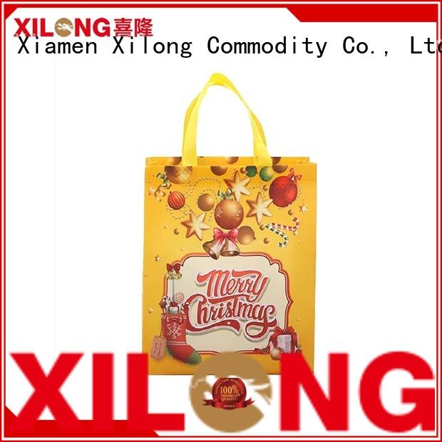Xilong eco-friendly china shopping bag manufacturer cut for students