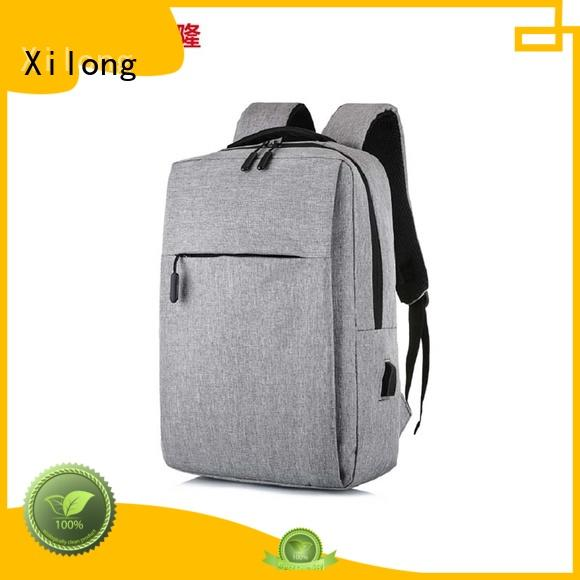 Xilong waterproof laptop travel backpack bags for computer