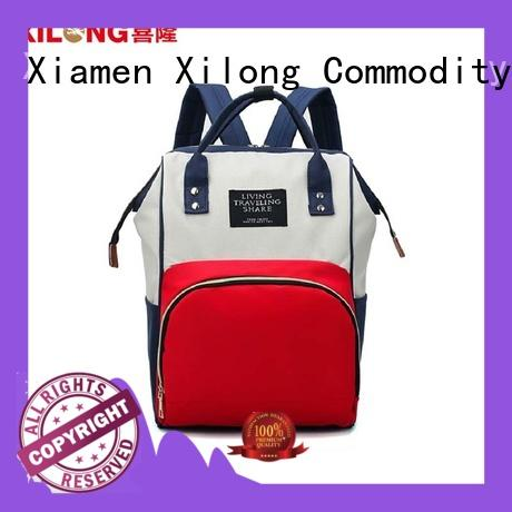 Xilong universal mummy diaper backpack bag for baby
