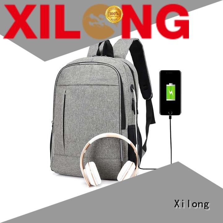 Xilong customized personalized computer bag fashion for business trip