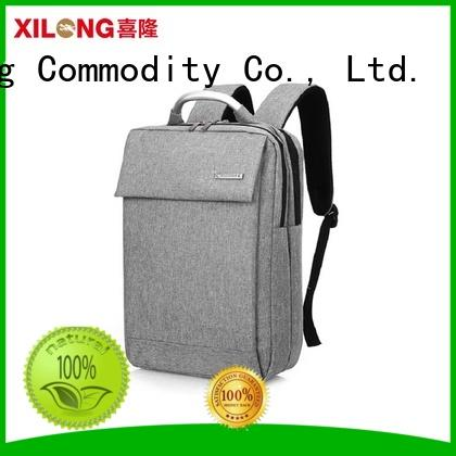 Xilong durable backpack laptop bag port for computer