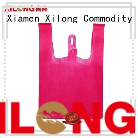 Xilong shopping non woven shopping bag manufacturers free sample for trip
