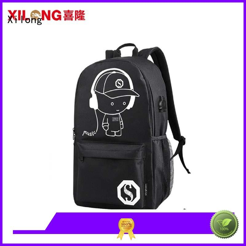 Xilong cool wholesale school bags bag for students