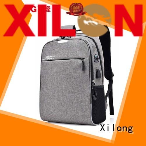 Xilong waterproof best laptop backpack for men light for travel