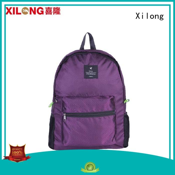 light fold up backpack australia best quality for boys Xilong