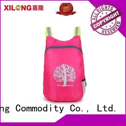 Xilong smart light foldable backpack