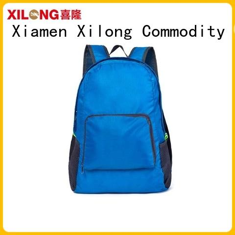 foldable lightweight folding travel backpack best quality for girls Xilong