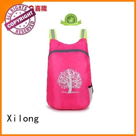 Xilong light foldable backpack bag best quality for tour