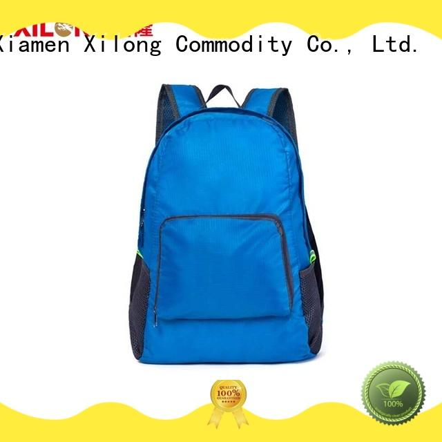 Xilong light fold out backpack reasonable price for travel