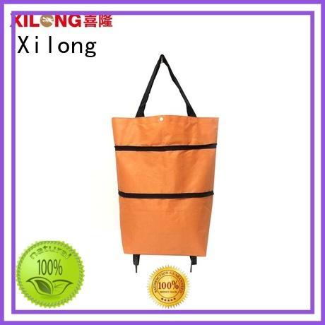 cart foldaway shopping bag customization for girls