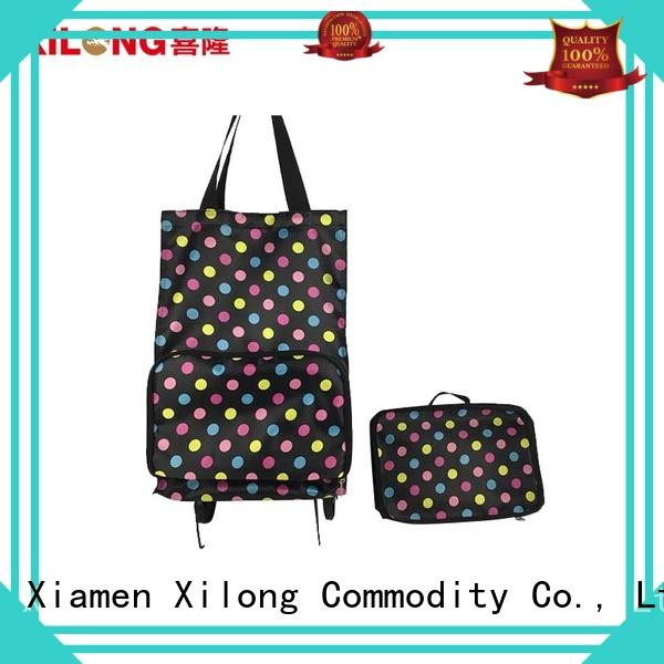 sale trolley shopping bag foldable laminated for girls