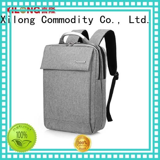 Xilong stylish small laptop backpack bags for business trip