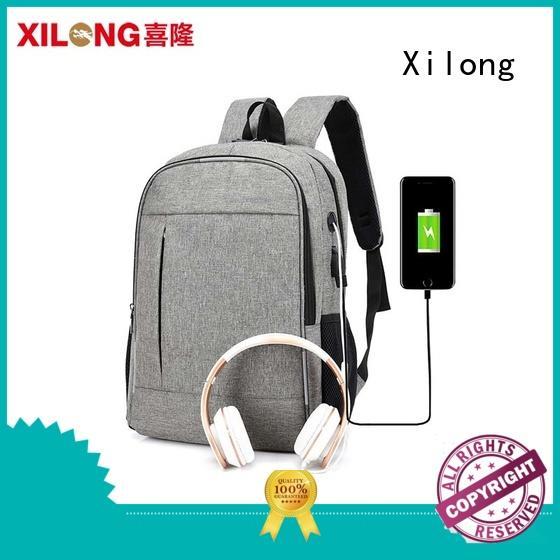 custom logo backpack laptop bag charger for wholesale