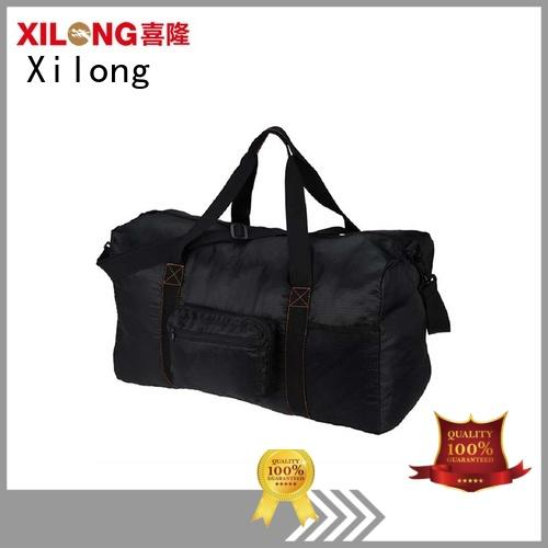 sports duffel bag polyester for travel Xilong