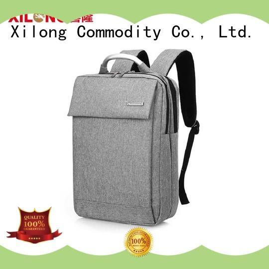 Xilong charging professional laptop backpack port for business trip