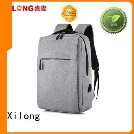 Xilong stylish laptop travel backpack usb charger for business trip